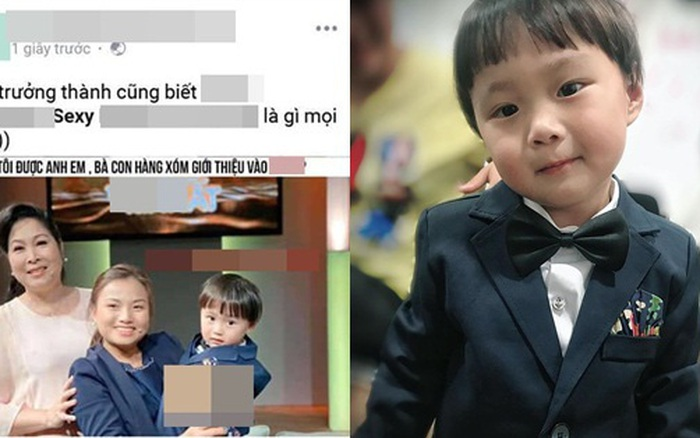Quỳnh Trần JP phẫn nộ vì ảnh bé Sa bị một fanpage gắn với nội dung người lớn