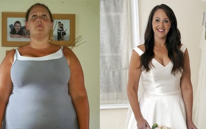 Cô gái  hoãn đám cưới tận 18 năm để tập trung giảm cân, lấy ...