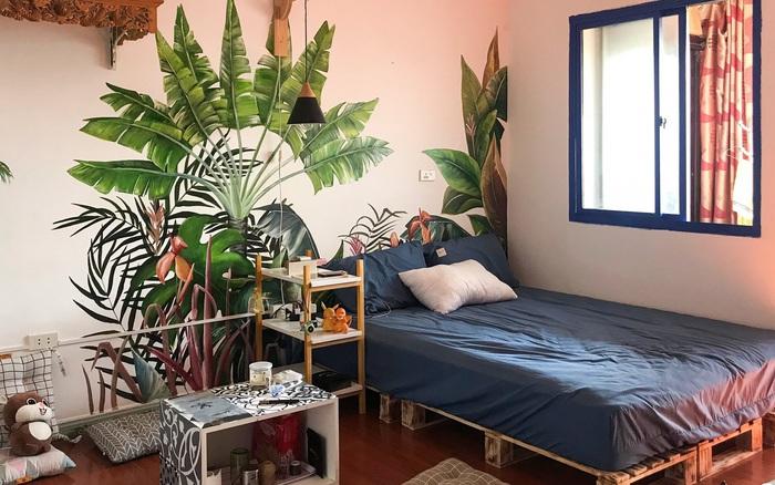 Chàng trai 9X biến căn hộ tập thể cho thuê rộng 30m² thành tổ ấm đẹp như cổ tích