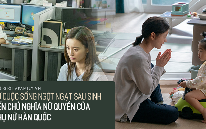 Khủng hoảng công việc và cuộc sống bí bách  sau sinh của phụ nữ Hàn Quốc: Lối ...