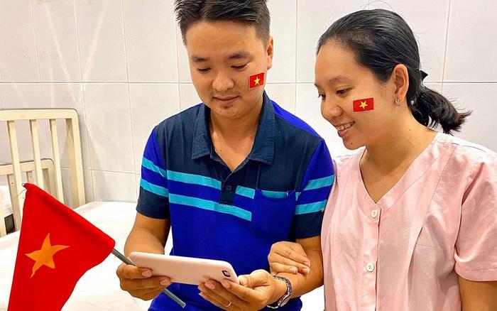 """Bà bầu chờ đẻ vẫn """"quẫy"""" hết mình cổ vũ U22 Việt Nam đấu U22 ... - kết quả xổ số gia lai"""