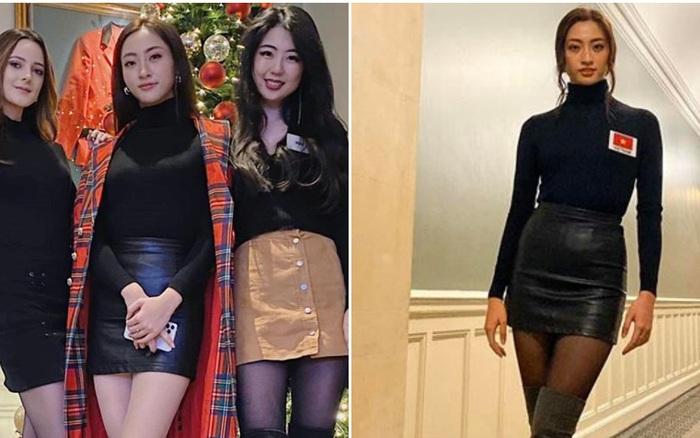 Dự Miss World, Lương Thùy Linh thường xuyên diện lại đồ cũ - xổ số ngày 22102019