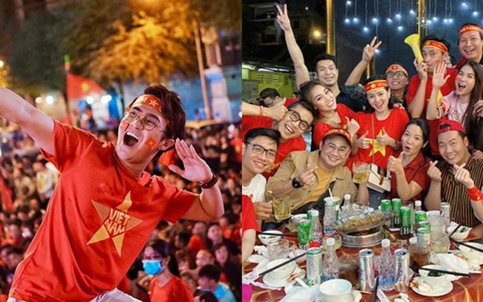 Việt Nam vô địch SEA Games, dàn sao Việt nô nức đi bão, mở tiệc ăn ...