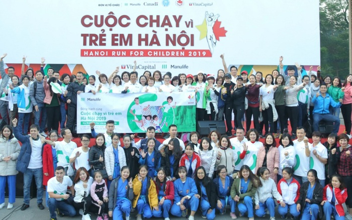 Cuộc chạy vì trẻ em Hà Nội 2019 tràn ngập sắc màu Manulife Việt Nam - kết quả xổ số gia lai