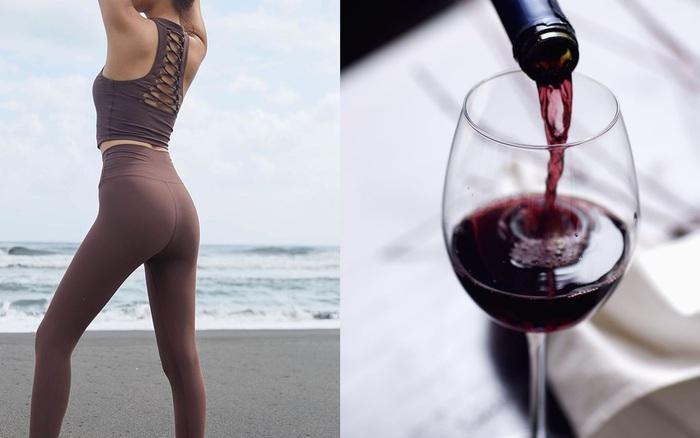 Uống 2 ly rượu vang đỏ trước khi đi ngủ sẽ giúp giảm cân