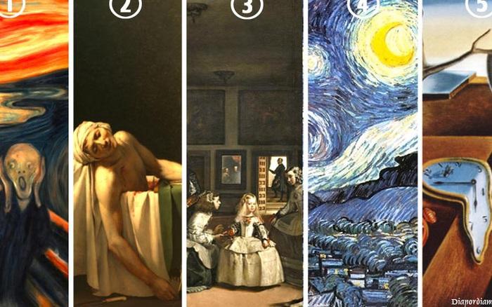 Chọn bức tranh nghệ thuật nổi tiếng để giải mã cuộc sống hiện tại mà bạn đang phải đối ...