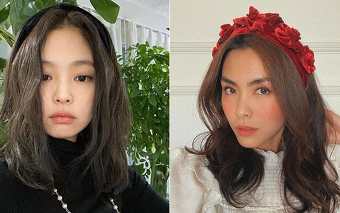 Từ Jennie, Jessica đến Hà Tăng đều đang diện bờm nhung