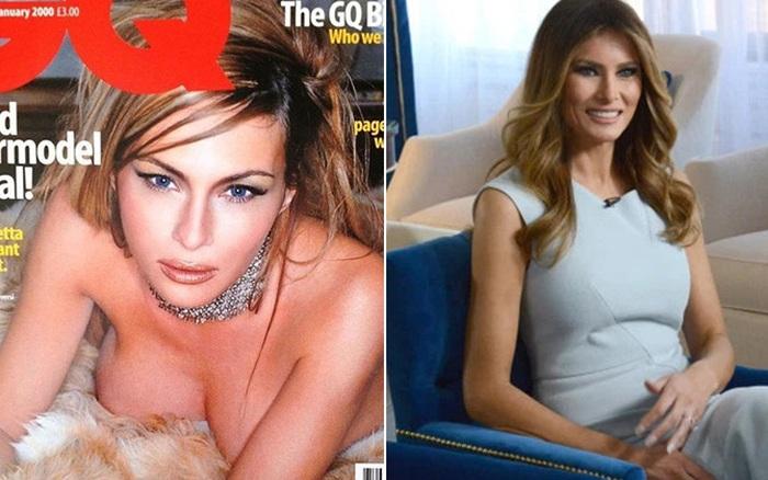 Từ nàng mẫu sexy nóng bỏng, bà Melania Trump đã thăng hạng ...