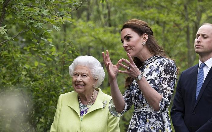 Tiết lộ mối quan hệ giữa Công nương Kate và Nữ hoàng Anh cho thấy vị thế hiện ...