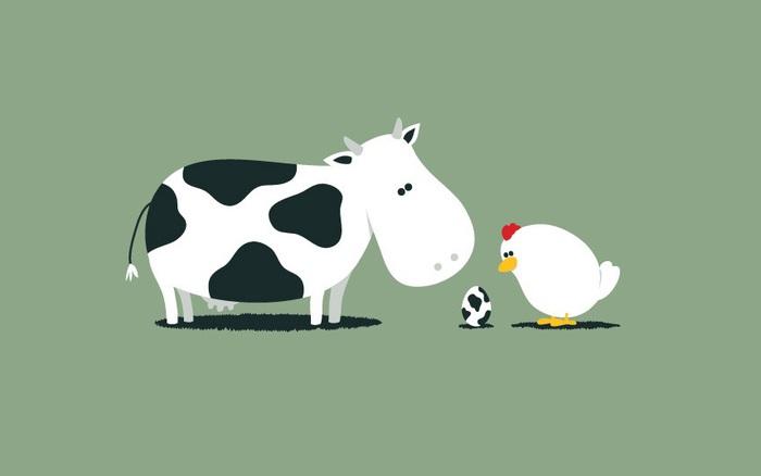 Hơn 30% học sinh tiểu học ở Anh tin rằng trứng gà do bò đẻ ra