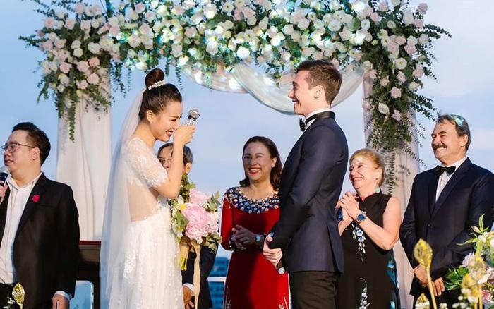 Á hậu Hoàng Oanh lần đầu chia sẻ cảm xúc sau hôn lễ trong mơ ...