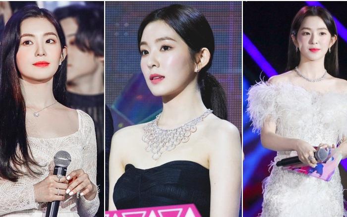 Irene thay liền 4 bộ trang phục trong 1 buổi tối mà bộ nào cũng đẹp như tiên tử