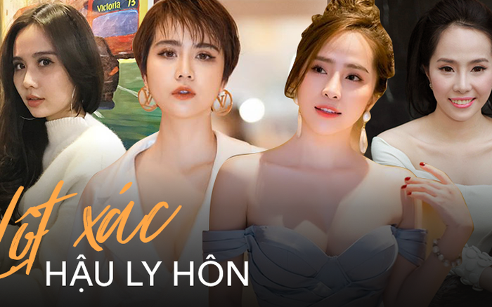 2 màn lột xác hậu ly hôn choáng nhất 2019
