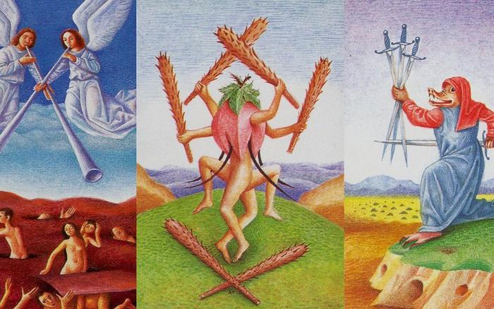 Rút một lá bài Tarot để khám phá những khó khăn, ...