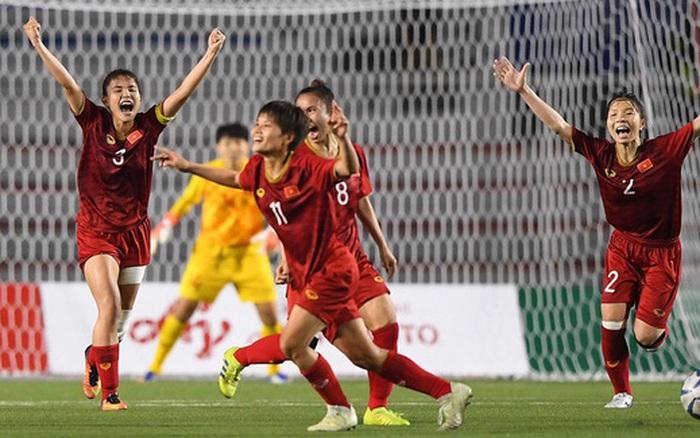 ĐT nữ Việt Nam giành ngôi hậu bóng đá nữ Sea Games bằng máu ...