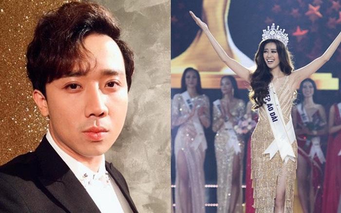 Hậu chung kết, Trấn Thành tiết lộ bất ngờ về Tân Hoa hậu Hoàn vũ Việt Nam