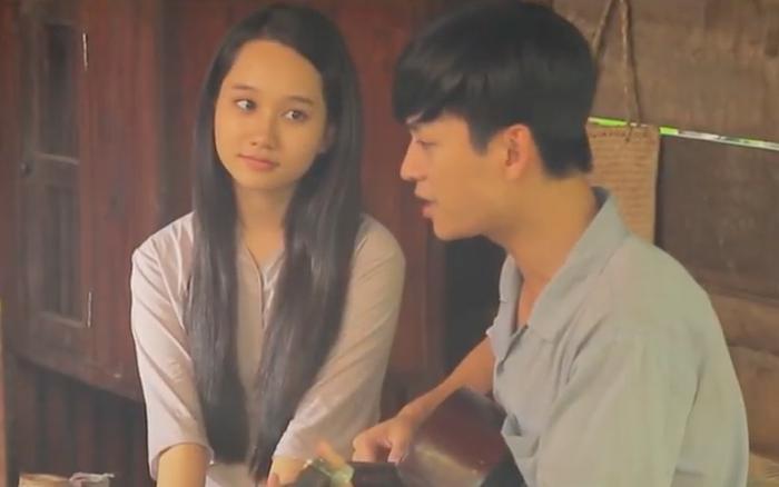 """""""Mắt Biếc"""": Lộ cảnh Ngạn ôm đàn hát cho Hà ..."""