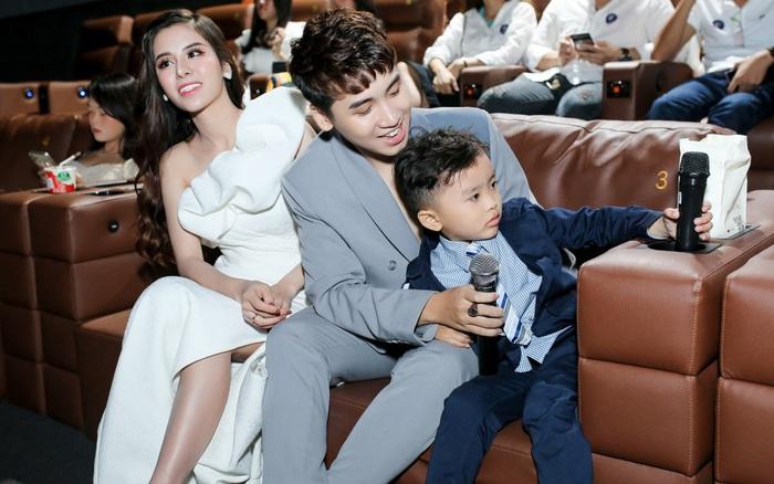 Kỷ niệm 1 năm ngày cưới, Huy Cung lần đầu công khai vợ con sau thời gian dài ...