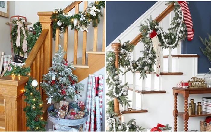 Mang vẻ đẹp hoàn hảo cho cầu thang dịp Giáng sinh nhờ lựa chọn đồ trang trí ... - kết quả xổ số đồng tháp