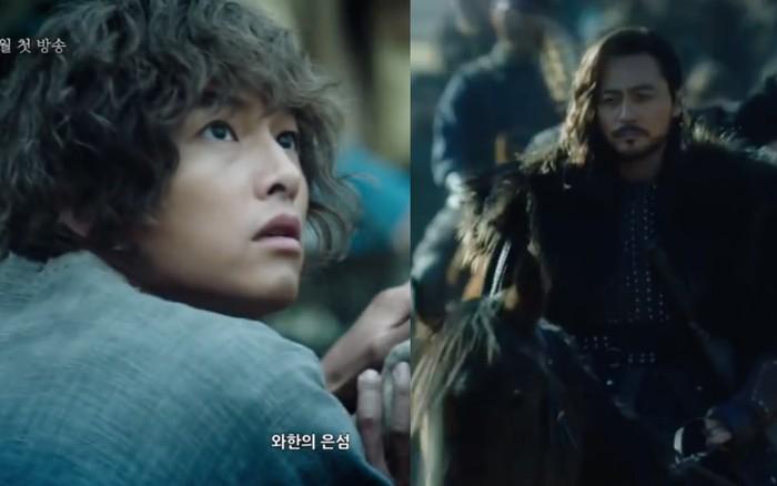 Song Joong Ki lép vế hoàn toàn trước thần thái đỉnh cao của Jang Dong Gun trong ...