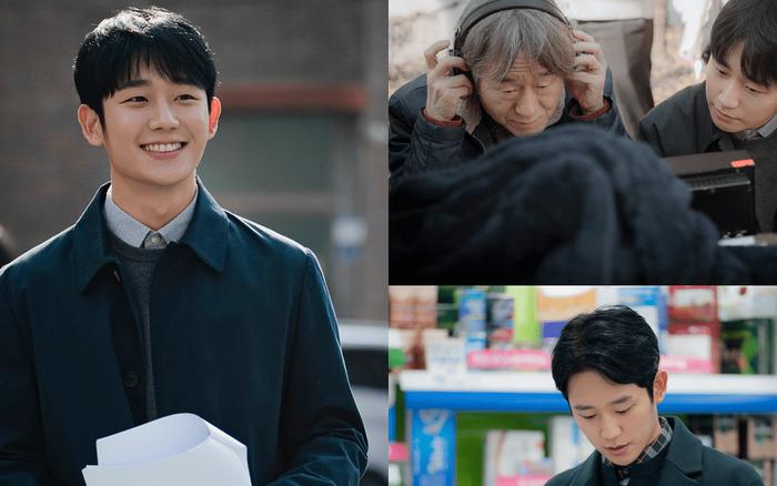 """""""Trai trẻ"""" Jung Hae In cười rạng rỡ gây xao xuyến trong hậu trường phim mới"""