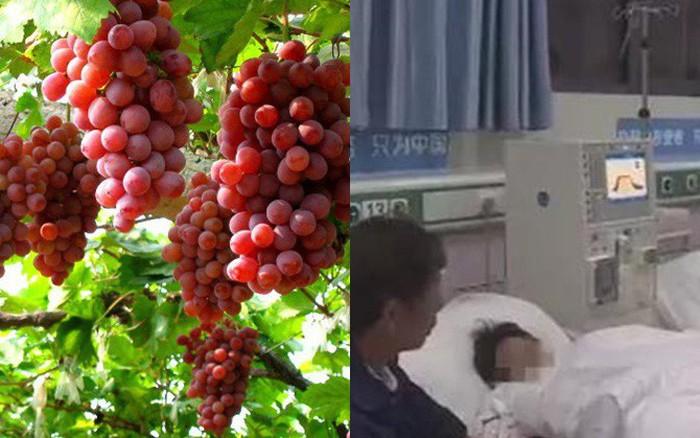 Một phụ nữ suýt mất mạng sau khi ăn nho, bác sĩ cảnh báo 3 lưu ý khi ăn trái ...
