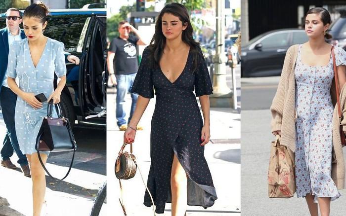 Selena Gomez có một công thức diện váy xinh tươi, bay bổng mà nàng nào diện ...