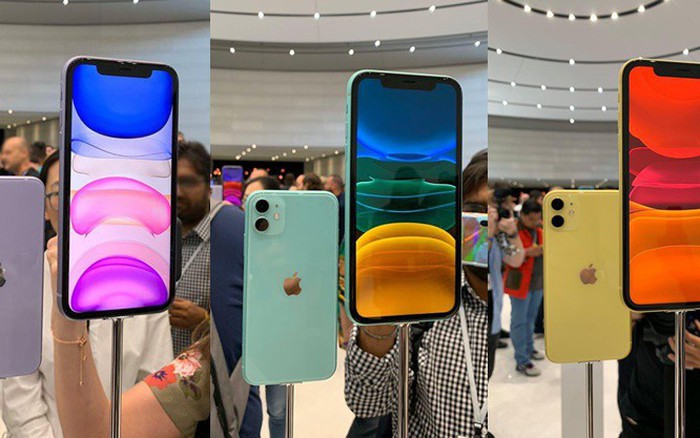 Cao cấp đến đâu chưa rõ nhưng nhìn màu sắc sương sương của iPhone 11, chị em đã ...