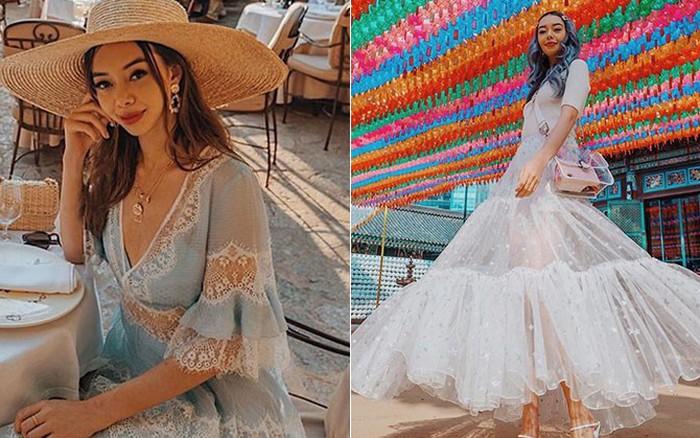 """Blogger bị vợ 2 Minh Nhựa """"mượn"""" ảnh: Style sang chảnh, quần áo mặc 1 lần là bán lại 1/2 ..."""