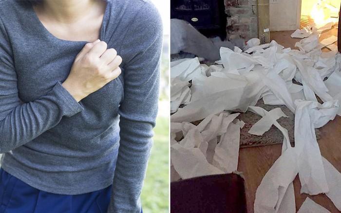Phòng con gái ngập giấy vệ sinh bốc mùi, người mẹ bàng hoàng phát hiện sự ...