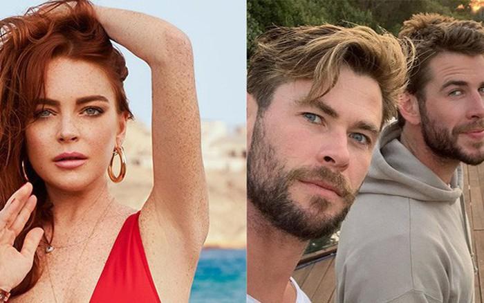 """""""Mê trai"""" tới mức chủ động nhắn tin mời anh em nhà Hemsworth đi chơi, """"cô ..."""