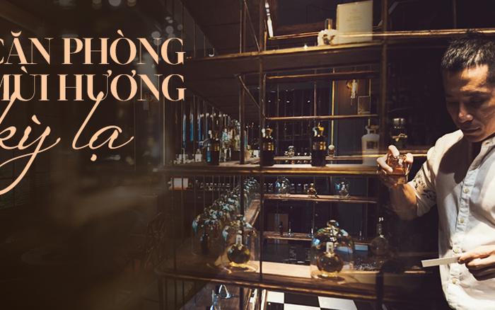 Bên trong tiệm nước hoa bí ẩn nhất Sài Gòn cửa lúc nào cũng đóng, muốn ...