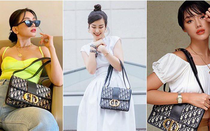 """Chiếc túi Dior mà Sĩ Thanh gọi là """"tai tiếng"""" lại được lòng hội sao Việt ..."""