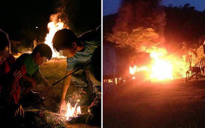 Hai anh em trai châm lửa đốt 12 ngôi nhà vì muốn biết lính cứu hỏa làm việc ...