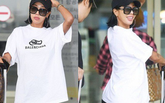 """Biến tấu style """"giấu quần"""" thành """"không quần"""", rapper Jessi nhận đủ gạch ..."""