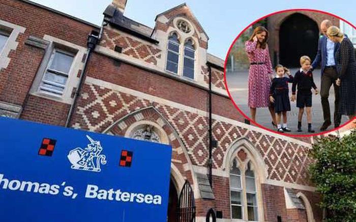 Trường học Thomas's hoàng tử, công chúa Anh đang theo học