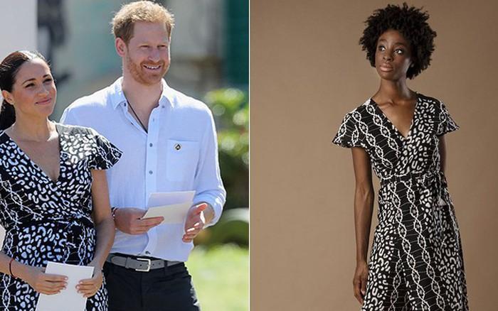 """Bị chê phản cảm, Meghan Markle vẫn khiến mẫu váy này """"cháy hàng"""" ..."""