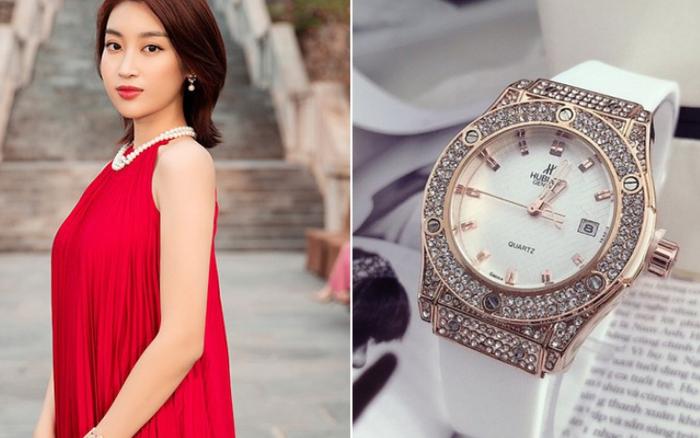 """Đỗ Mỹ Linh đeo đồng hồ 300 triệu, phá tan danh xưng """"Hoa hậu nghèo nhất Việt Nam"""""""