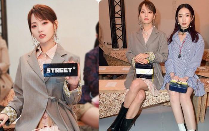 """""""Mỹ nhân đẹp nhất Diên Hi Công Lược"""" tại Tuần lễ thời trang Paris: Sắc vóc như mới ..."""