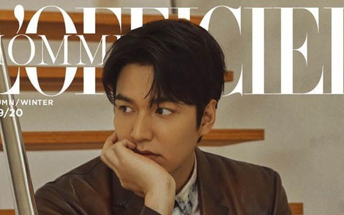 """""""Người thừa kế"""" Lee Min Ho xuất hiện với vẻ ngoài điển trai và quyến rũ sau thời gian ..."""