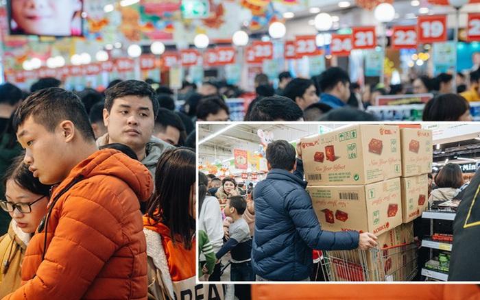 Mua sắm tại siêu thị lớn: Sản phẩm bay vèo vì giảm giá, người ... - xổ số ngày 13102019