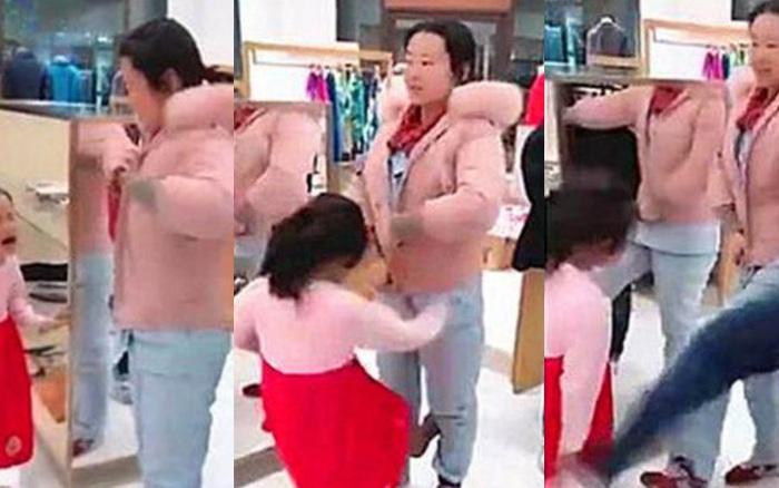Đi chợ Tết, con gái 5 tuổi đánh mẹ vì không được mua món đồ ...