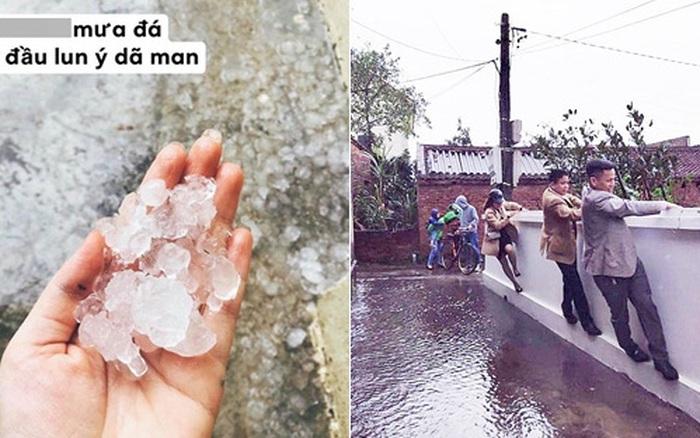 Mùng 1 Tết đầu năm mưa gió bão bùng, dân tình dở ...