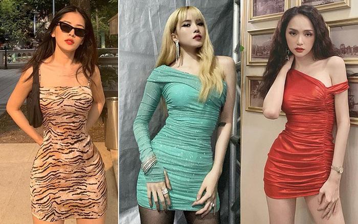 Để chứng minh body chuẩn, dàn mỹ nhân Vbiz nô nức diện váy ...