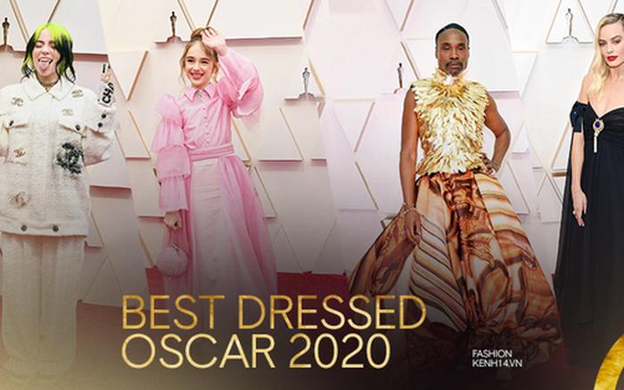 Top sao mặc đẹp nhất Oscar 2020