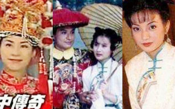 Phòng trang phục với hơn 100.000 bộ của TVB: Tuyên Huyên - Xa Thi Mạn mặc ...