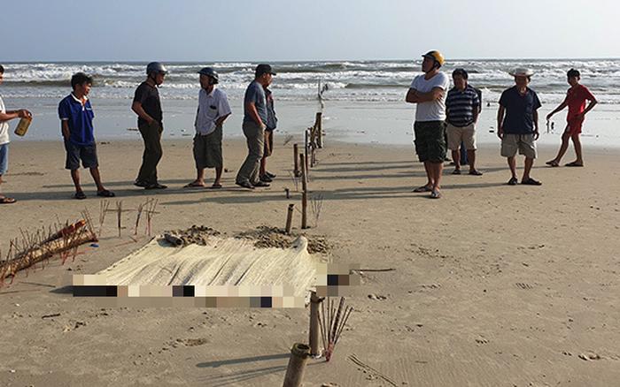 Hoảng hồn phát hiện phần thi thể người mắc vào lưới ngư dân