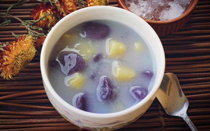 Cách nấu chè khoai dẻo Đài Loan dẻo thơm ngon ngất ngây 1