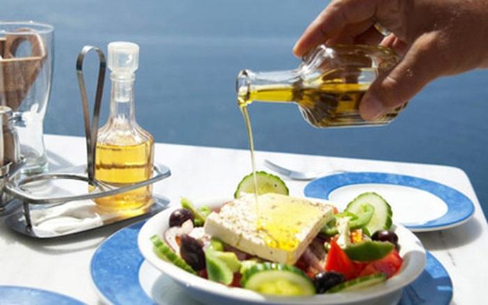 Dầu olive - linh hồn của các món ăn Hy Lạp